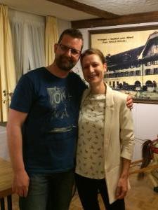 v.l. Bruno Odermatt (25 Jahre) Patricia Kaufmann (23 Jahre)